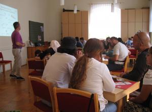 Informationsveranstaltung zur dualen Ausbildung für Geflüchtete bei der Diakonie Königstein    </br>