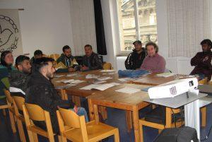 Informationsveranstaltung zur dualen Ausbildung bei der CABANA-Migrationsberatung </br>