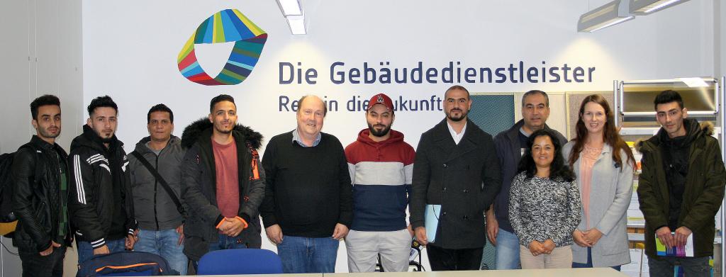 Einblick in den Ausbildungsberuf Gebäudereiniger/in in der Gebäudereinigerinnung Chemnitz/Dresden im Freistaat Sachsen <br/>