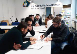 Azubi-Speed-Dating in der Gebäudereinigerinnung Chemnitz/Dresden </br>